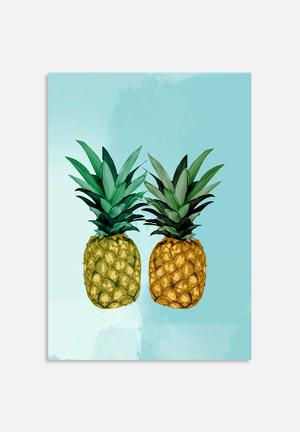 Sarah Allderman Pineapple Art