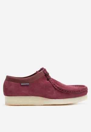 Grasshoppers Moccasin Slip-ons And Loafers Burgundy