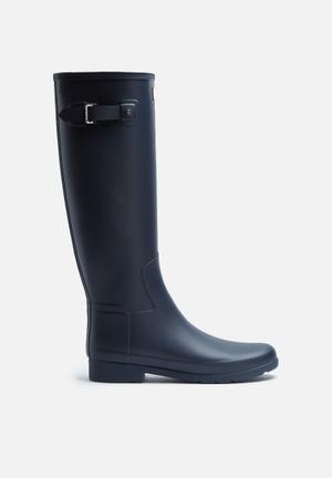 Hunter Original Refined Matte Boots Navy