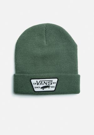 Vans Milford Beanie Headwear Green