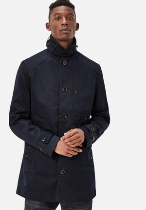 G-Star RAW Garber Trench Jackets Navy