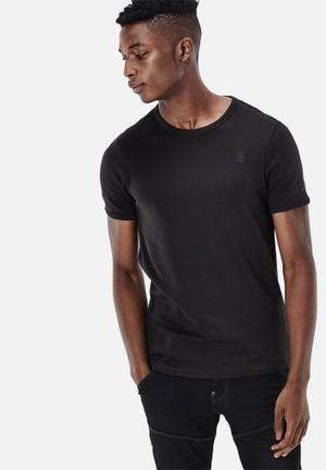 G-Star RAW Base Tee 2-pack T-Shirts & Vests Black