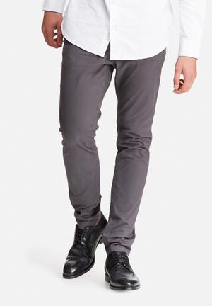 Jack & Jones Jeans Intelligence Marco Slim Chino Grey