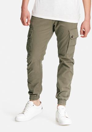 Jack & Jones Jeans Intelligence Paul Cuffed Chino Khaki