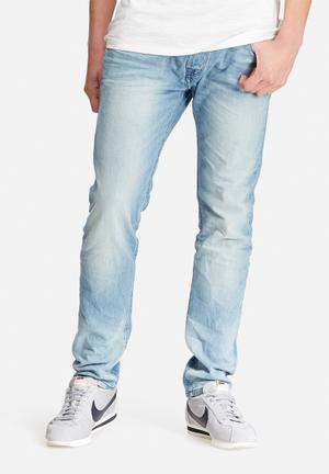 Jack & Jones Jeans Intelligence Tim Slim Fit Jeans Blue