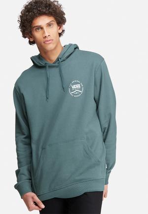 Vans Original Rubber Hoodie Hoodies & Sweatshirts Blue Grey & White