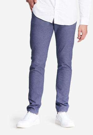 Jack & Jones Jeans Intelligence Marco Cuba Slim Fit Pants & Chinos Blue