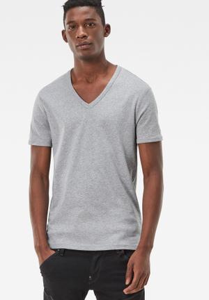 G-Star RAW Base Tee 2-pack T-Shirts & Vests Grey