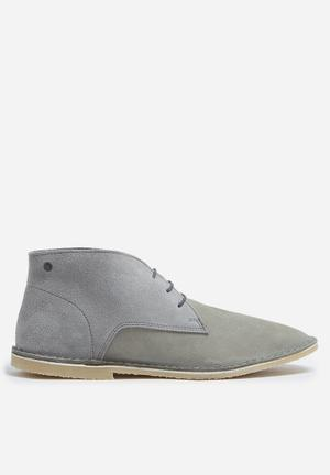 Jack & Jones Footwear & Accessories Damon Suede Boot Light Blue