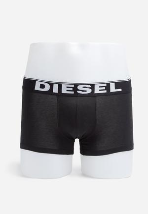 Diesel  Kory Two Pack Underwear Grey & Black