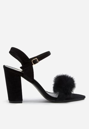 Footwork Heather Heels Black
