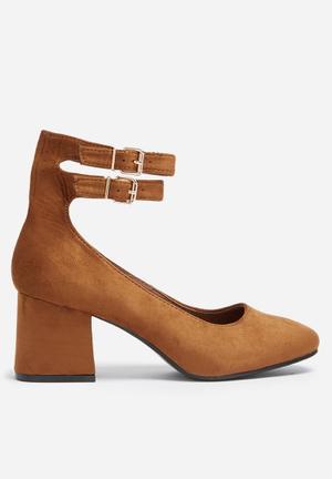 Footwork Zahara Heels Camel