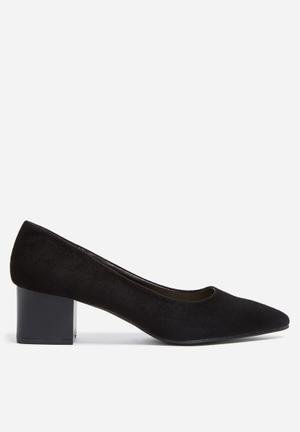 Footwork Jasmine Heels Black