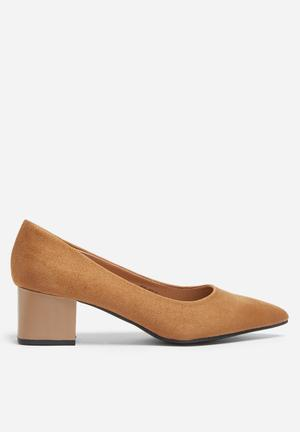 Footwork Jasmine Heels Tan