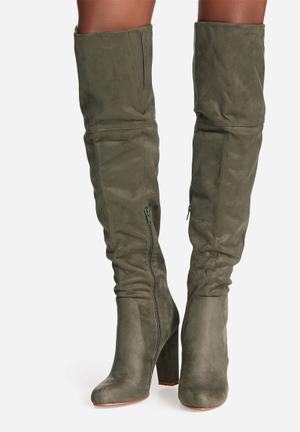 Billini Lara Boots Khaki