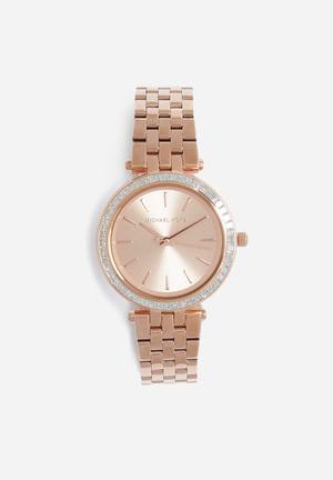 Michael Kors Darci Mini Watches Rose Gold