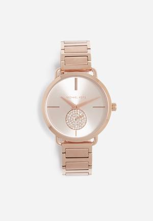 Michael Kors Portia Watches Rose Gold