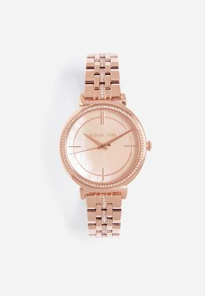 Michael Kors Cinthia Watches Rose Gold