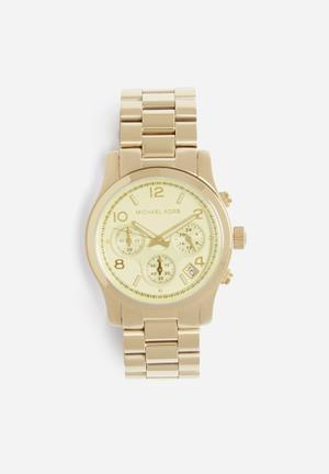 Michael Kors Runway Watches Gold