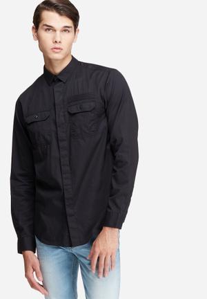 Jack & Jones CORE Jerome Slim Fit Shirt  Black