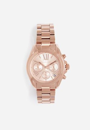 Michael Kors Bradshaw Mini Watches Rose Gold
