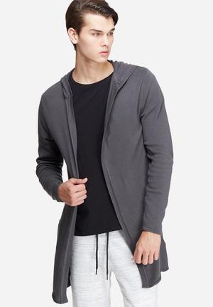 Only & Sons Andor Cardigan Knit Knitwear Grey