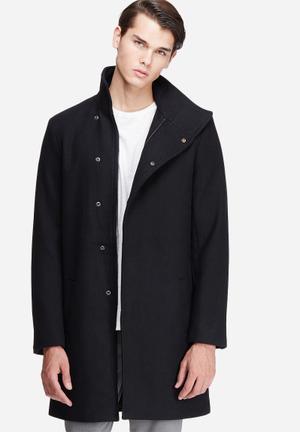 Only & Sons Oscar Coat Black