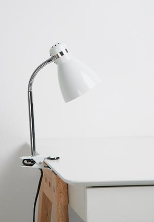 Present Time Study Clip-on Lamp Lighting
