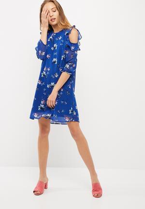 Vero Moda Wilmara Cold Shoulder Dress Formal