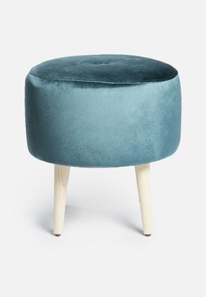 Sixth Floor Azure Ottoman Chairs & Stools