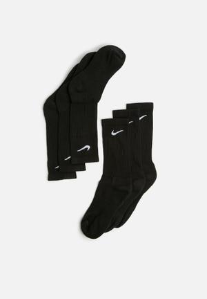 Nike Cush 3 Pack Socks