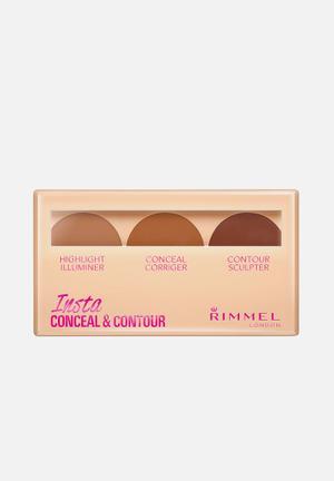 Rimmel Insta Conceal Contour - Dark Face