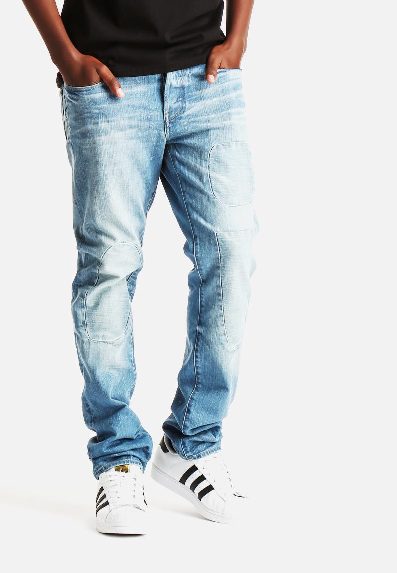 3301 tapered nippon denim light aged g star raw jeans. Black Bedroom Furniture Sets. Home Design Ideas