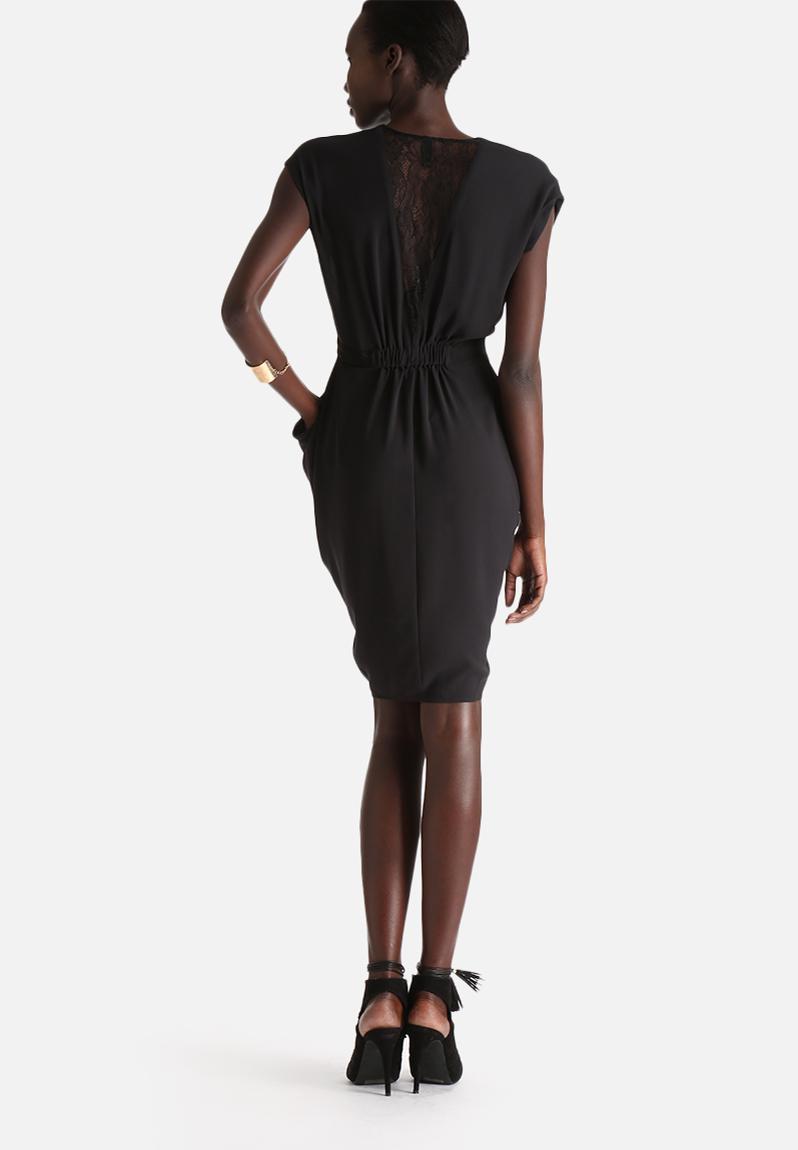 Macy Lace Dress - Black Y.A.S Occasion   Superbalist.com