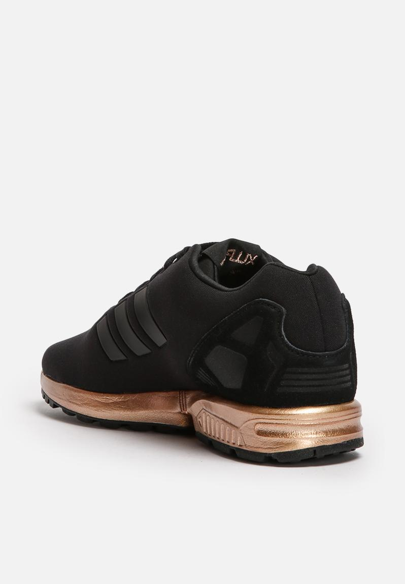 adidas zx flux w core black/copper metallic