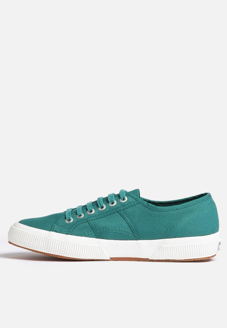 2750 cotu w classic canvas teal white superga sneakers