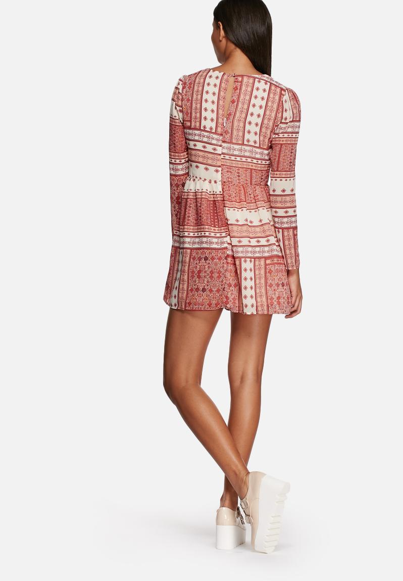 Amelie dress - cream & red Glamorous Casual   Superbalist.com