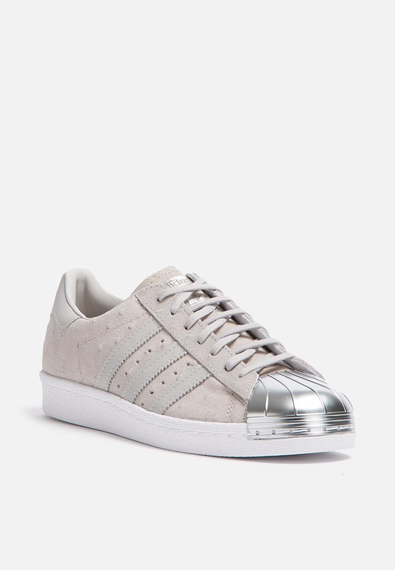 adidas originals superstar 80s metal toe grey silver. Black Bedroom Furniture Sets. Home Design Ideas