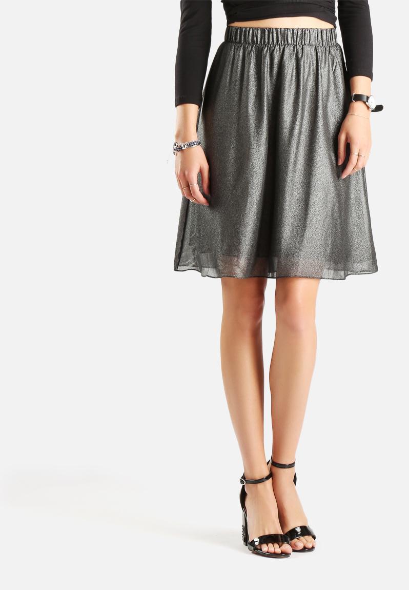 Black Shiny Skirt 119