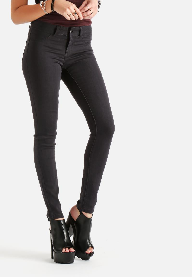 Womens Dark Grey Jeans Ye Jean