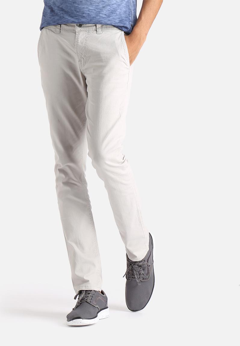 Elegant Tommy Hilfiger  Gray Straightleg Chino Pants  Lyst
