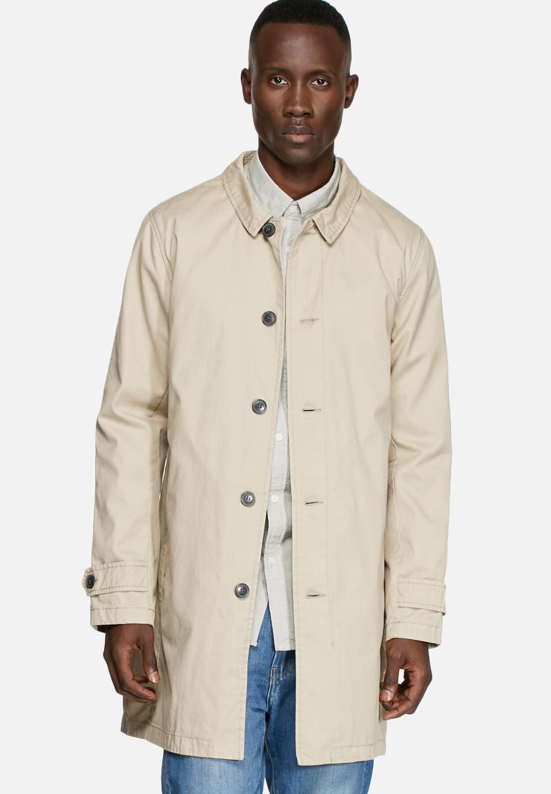 trench coat sand selected homme coats. Black Bedroom Furniture Sets. Home Design Ideas