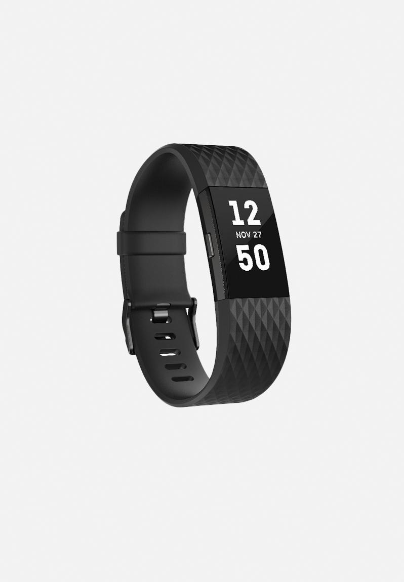Charge 2 - black gunmetal Fitbit Fitness | Superbalist.com