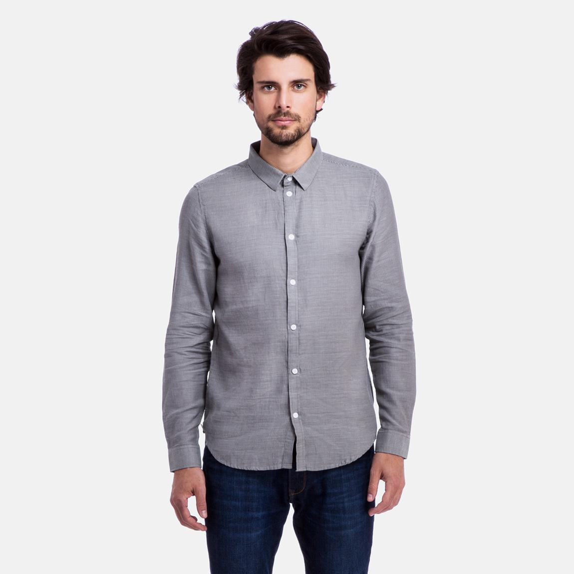 Damon shirt heavy grey white cheap monday shirts for Domon men s underwear