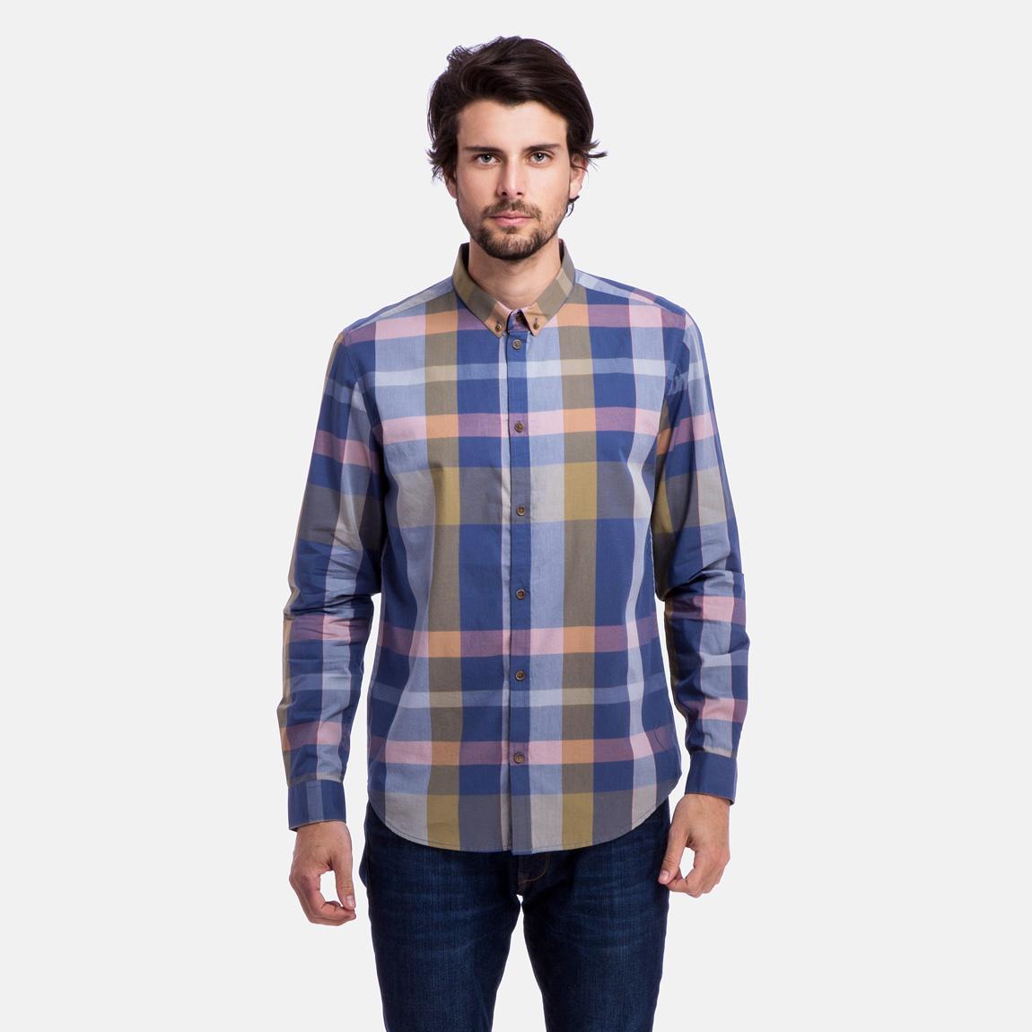 Damon shirt grey peach cheap monday shirts for Domon men s underwear