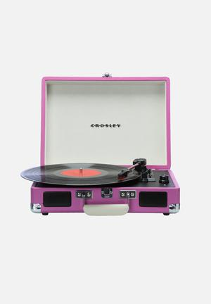 Crosley Cruiser Audio Pink