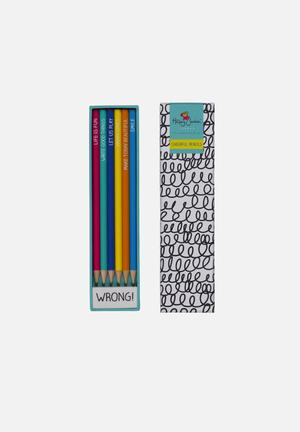 Wild & Wolf Pencil Set Gifting & Stationery