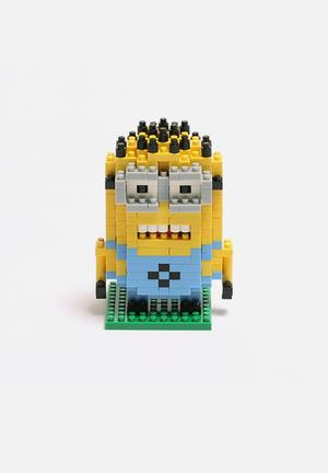 Diamond Blocks Minion Dave Toys & LEGO Plastic