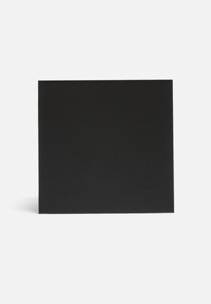 NAGA Magnetic Glass Board Gifting & Stationery Black