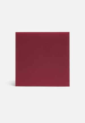 NAGA Magnetic Glass Board Gifting & Stationery Red
